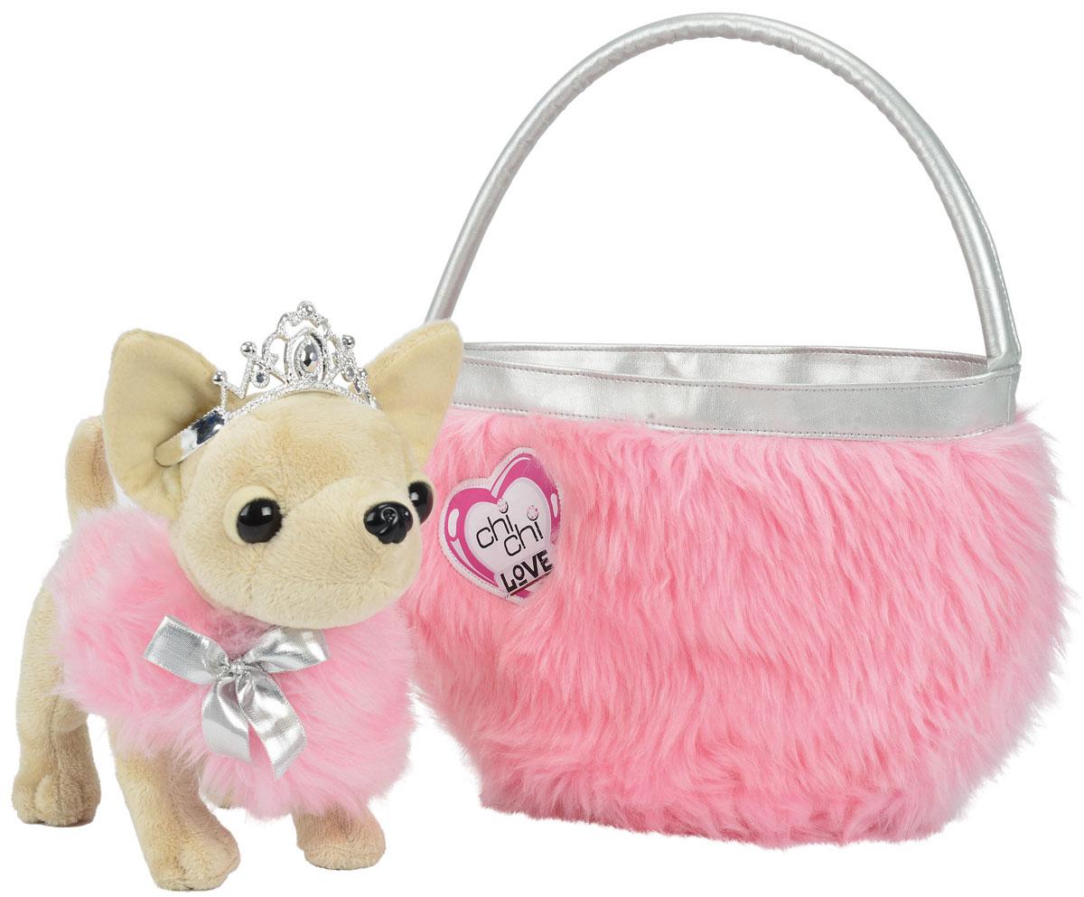 Simba Мягкая игрушка Чихуахуа Beauty Princess с сумкой 21 см