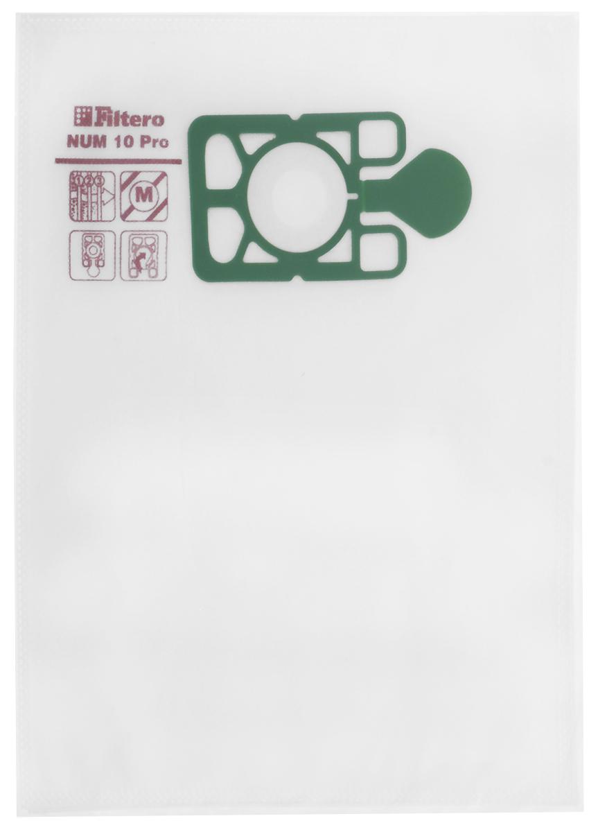 Filtero NUM 10 Pro комплект пылесборников для промышленных пылесосов, 5 шт filtero bsh 15 5 pro
