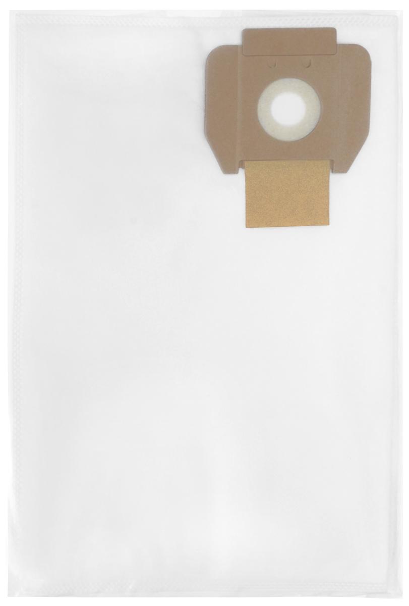 Filtero CLN 10 Pro комплект пылесборников для промышленных пылесосов, 5 штCLN 10 (5) ProМешки для промышленных пылесосов Filtero CLN 10 Pro, трехслойные, произведены из синтетического микроволокна MicroFib. Прочность синтетических мешков Filtero CLN 10 Pro превосходит любые бумажные мешки-аналоги, даже если это оригинальные бумажные мешки всемирно известных марок. Вы можете быть уверены: заклепки, гвозди, шурупы, битое стекло, острые камни и прочее не смогут прорвать мешки Filtero Pro. Мешки Filtero Pro не боятся влаги, и даже вода, попавшая в мешок, не помешает вам произвести качественную уборку! Мешки Filtero Pro предназначены для уборки пыли классов М.Подходят для следующих моделей пылесосов:CLEANFIX:S 10S 12COLUMBUS:ST 11ST 22DELVIR:STILLHAKO:D 5SUPERVAC 100SOTECO:LEOTASKI:Vento 8TENNANT:V 5
