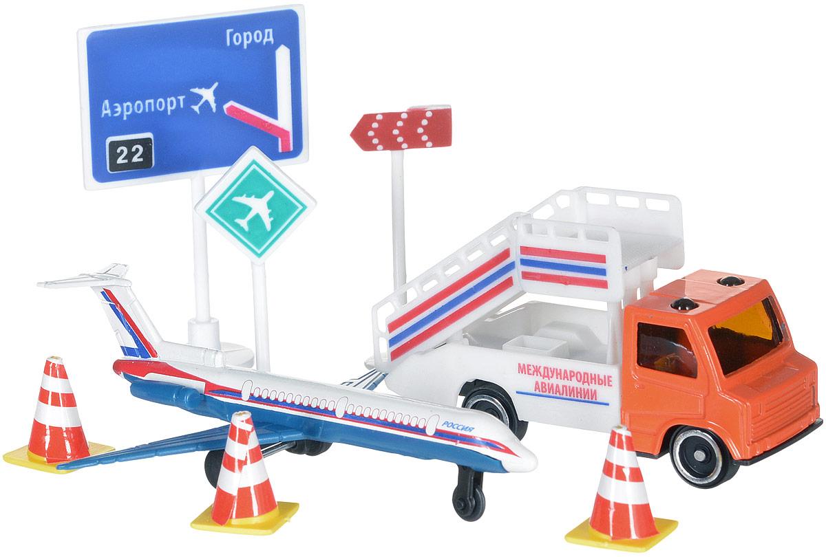 ТехноПарк Игровой набор Аэропорт 30814 технопарк игровой набор светофор