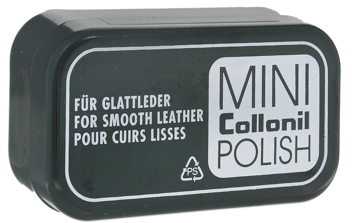 Мини-губка для обуви Collonil Mini Polish, для гладкой кожи, цвет: бесцветный7411 000Губка для обуви Collonil Mini Polish предназначена для мгновенного ухода за вашей обувью. Губка освежает цвет и придает блеск. Изделие подходит для всех видов гладкой кожи. Компактная упаковка губки легко поместиться в вашу сумку. Способ применения:Нанести на сухую предварительно очищенную поверхность изделия.Состав: пластик, поролон, пропитка на основе силикона. Размер губки: 6 х 3 х 2,5 см.