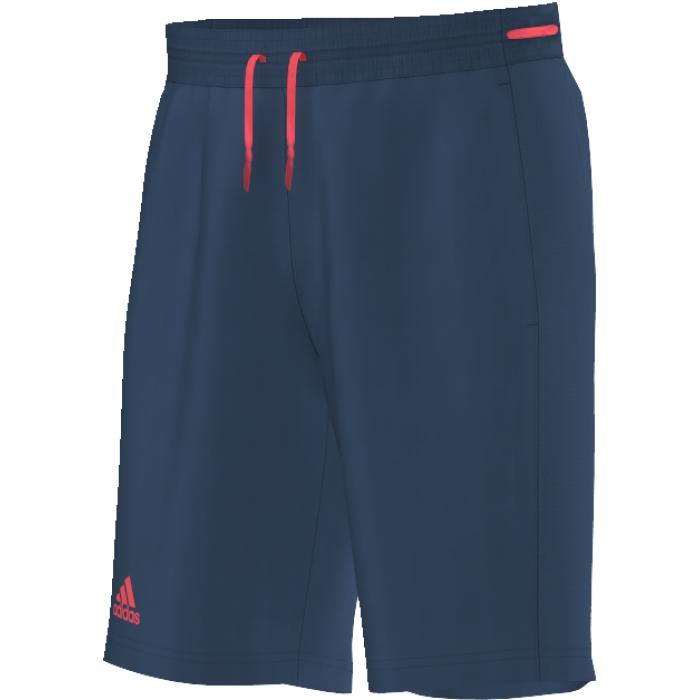 Шорты для тенниса мужские adidas Club Bermuda, цвет: синий. AP4799. Размер M (48/50)AP4799Мужские шорты-бермуды идеально подойдут для долгих часов на корте. Материал с технологией climacool обеспечивает эффективную вентиляцию. Дополнительные вшитые шорты для большего комфорта.Технология climacool сохраняет приятное ощущение прохлады и свежести благодаря специальным сетчатым вставкам.Эластичный пояс на регулируемых завязках-шнурках.Классический крой.