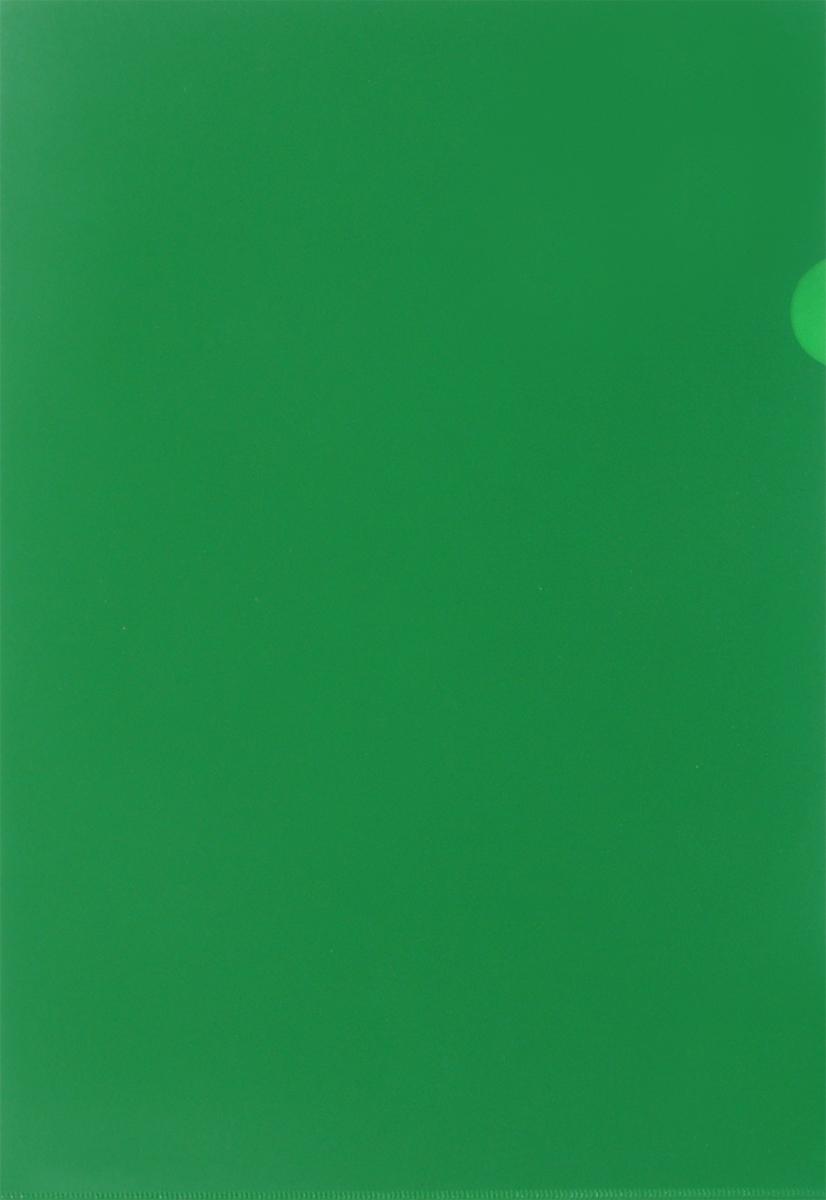 Бюрократ Папка-уголок цвет зеленый816359Надежная папка-уголок Бюрократ предназначена для хранения различных документов и бумаг, не превышающих формат А4. Папка-уголок зеленого цвета изготовлена из износоустойчивого полипропилена. Она всегда будет сохранять ваши документы и бумаги в опрятном и чистом виде.