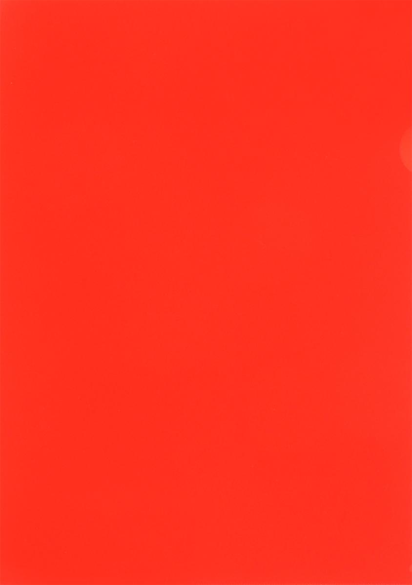 Бюрократ Папка-уголок цвет красный
