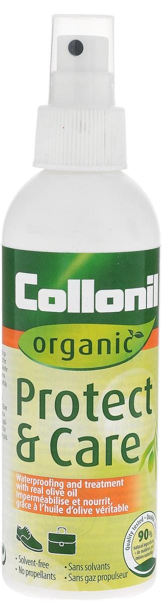 Жидкость-основа для обуви Collonil Organic Protect+Care, 200 мл5614 000Жидкость для ухода и защиты. Удобный распылитель позволяет наносить жидкость равномерно.
