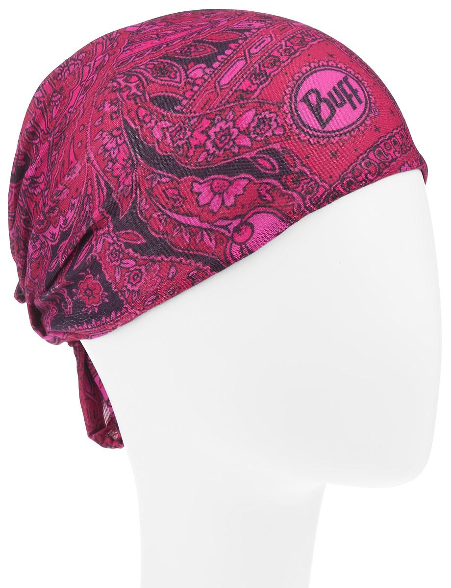 Бандана Buff Women Slim Fit Bolshoi, цвет: фуксия, розовый. 104853.00. Размер универсальный104853.00Многофункциональная Buff бандана Women Slim Fit Bolshoi, выполненная из мягкой микрофибры, защищает от ветра, пыли, влаги и ультрафиолета. Материал изделия контролирует микроклимат в холодную и теплую погоду, отводит влагу. Ткань обработана ионами серебра, обеспечивающими длительный антибактериальный эффект и предотвращающими появление запаха. Материал не теряет цвет и эластичность, не требует глажки. Бесшовная бандана-труба оформлена оригинальным цветочным принтом и фирменным логотипом. Модель можно носить на шее и на голове, как шейный платок, маску, бандану, шапку и подшлемник. Изделие очень эластично и принимает практически любую форму. Свойства материала позволяют использовать бандану в любое время года, при занятиях любым видом спорта, активного отдыха, туризма или рыбалки.
