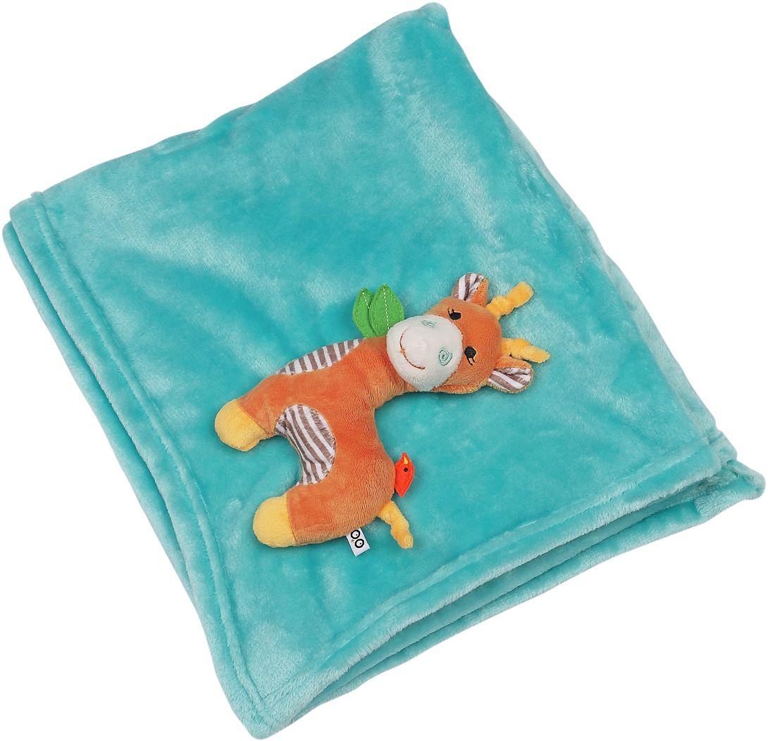 Zoocchini Одеяло с игрушкой Жираф - Детский текстиль