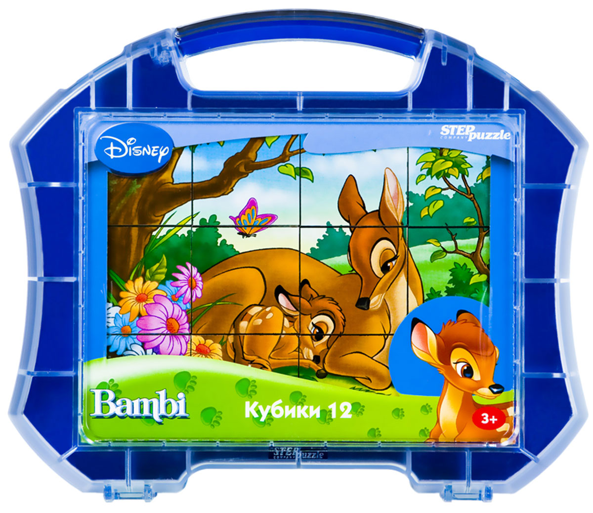 Step Puzzle Кубики Бемби в чемоданчике step puzzle кубики ну погоди