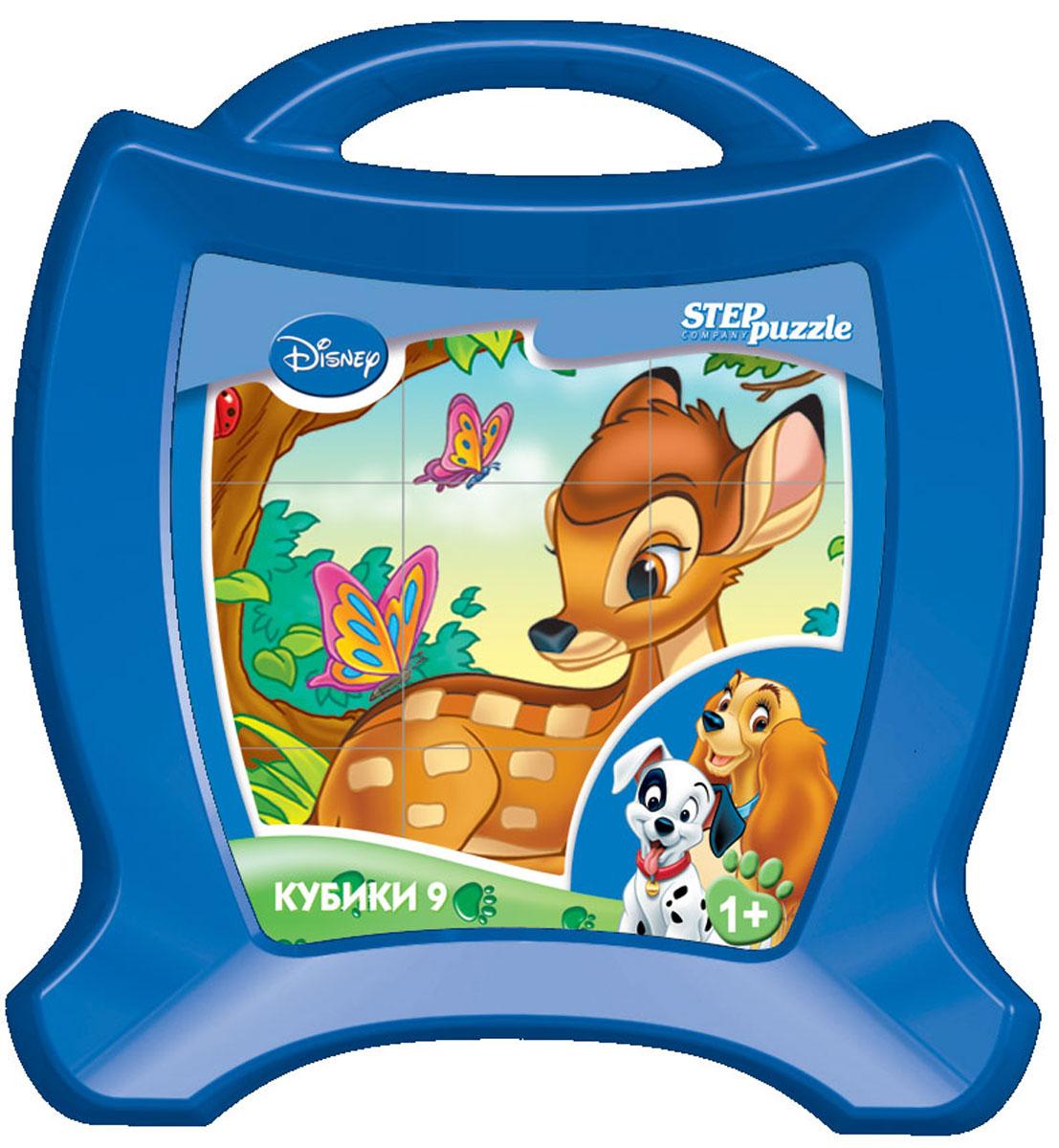 Step Puzzle Кубики Animal Friends в чемоданчике step puzzle кубики ну погоди