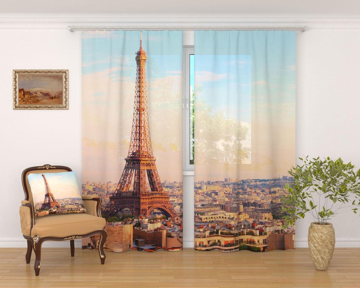 Комплект фототюлей Сирень Просыпающийся Париж, на ленте, высота 260 см03236-ФТ-ВЛ-001Фототюль Сирень Просыпающийся Париж из легкой парящей ткани - вуали - благодаря своей прозрачности позволяет создать в комнате уютную атмосферу, отлично дополняет украшение любого окна. Ткань хорошо держит форму, не требует специального ухода. Яркая и чёткая картинка будет радовать вас каждый день.Крепление на карниз при помощи шторной ленты на крючки.В комплекте: 2 тюля.Ширина полотна: 145 см.Высота полотна: 260 см. Рекомендации по уходу: стирка при 30 градусах, гладить при температуре до 110 градусов.Изображение на мониторе может немного отличаться от реального.