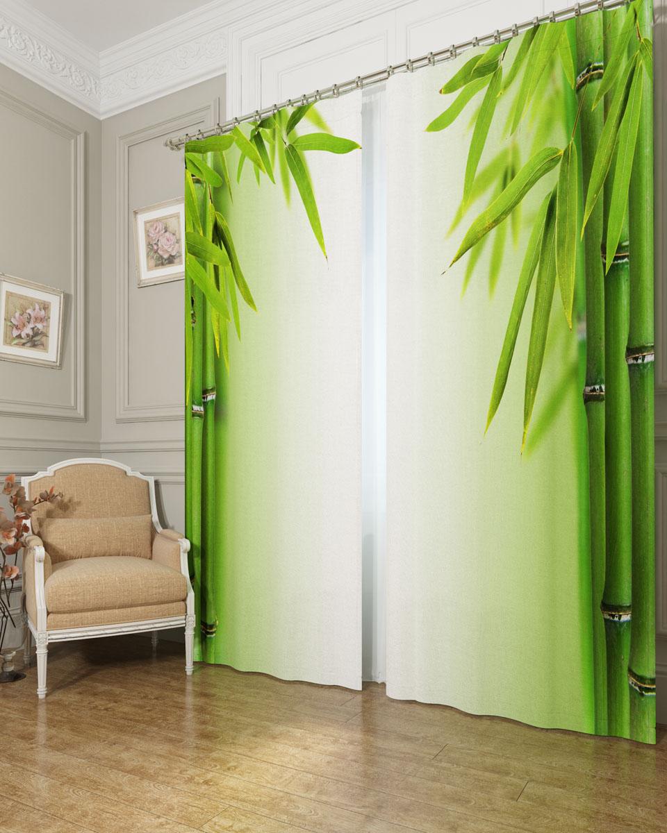 Комплект фотоштор Сирень Листья бамбука, на ленте, высота 260 см03901-ФШ-БЛ-001Фотошторы Сирень Листья бамбука, выполненные из блэкаута, отлично дополнят украшение любого интерьера. Блэкаут - это трехслойная светонепроницаемая ткань - 100% полиэстер, по структуре напоминает плотный хлопок, очень мягкий,с небольшим сероватым оттенком из-за черной нити, входящей в состав ткани. Блэкаут не требует особого ухода, хорошо драпируется. Пропускает солнечные лучи не более 5%. Крепление на карниз при помощи шторной ленты на крючки. В комплекте 2 шторы. Ширина одного полотна: 145 см.Высота штор: 260 см.Рекомендации по уходу: стирка при 30 градусах, гладить при температуре до 110 градусов.Изображение на мониторе может немного отличаться от реального.