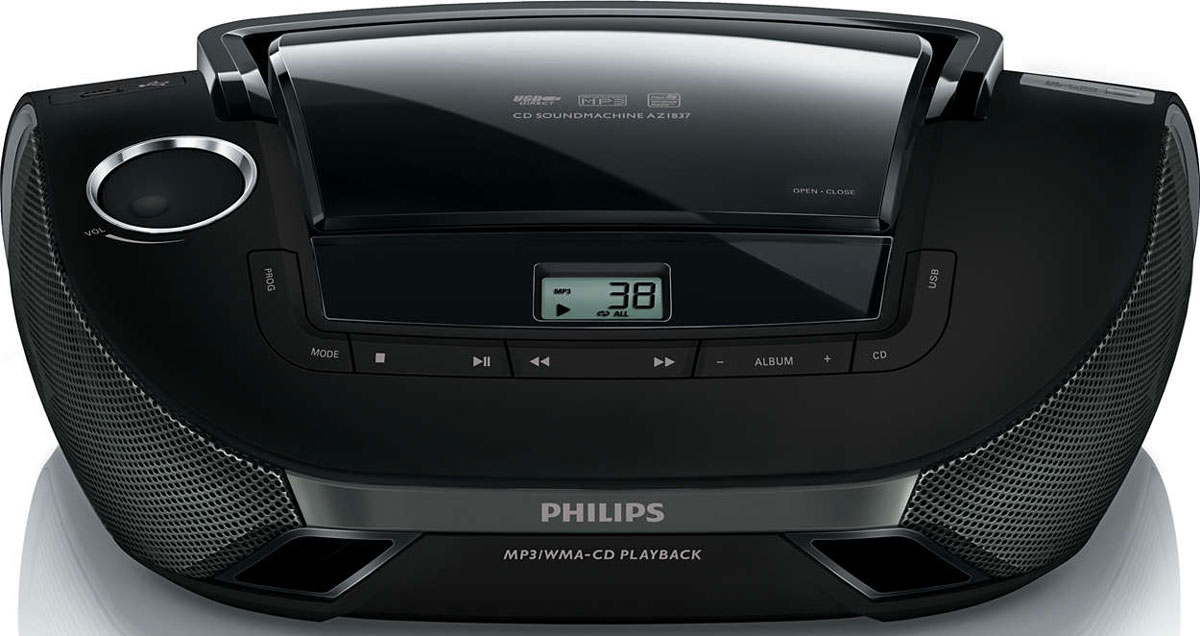 Philips AZ1837/12 магнитола philips vtr5800 digital recorder voice tracer with mp3 recording function