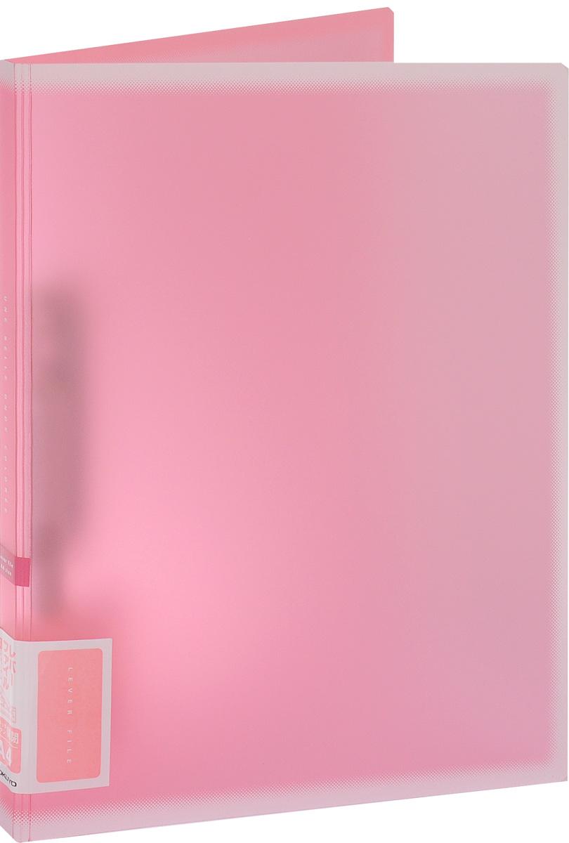 Kokuyo Папка c зажимом Coloree цвет розовый828618Папка с зажимом Kokuyo Coloree предназначена для хранения документов и тетрадей. Она подойдет как для офисного работника, так и для студента или школьника. По форме это обычная папка формата А4, но она имеет прочный пластиковый зажим, который надежно зафиксирует ваши бумаги.Папка изготовлена из качественного пластика и всегда будет сохранять все ваши документы в чистом и опрятном виде.