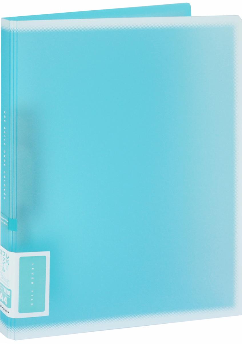 Kokuyo Папка c зажимом Coloree цвет бирюзовый828616Папка с зажимом Kokuyo Coloree предназначена для хранения документов и тетрадей. Она подойдет как для офисного работника, так и для студента или школьника. По форме это обычная папка формата А4, но она имеет прочный пластиковый зажим, который надежно зафиксирует ваши бумаги.Папка изготовлена из качественного пластика и всегда будет сохранять все ваши документы в чистом и опрятном виде.