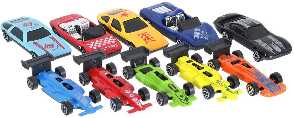 Shantou Набор машинок City Racer 10 шт 47808 shantou daxiang