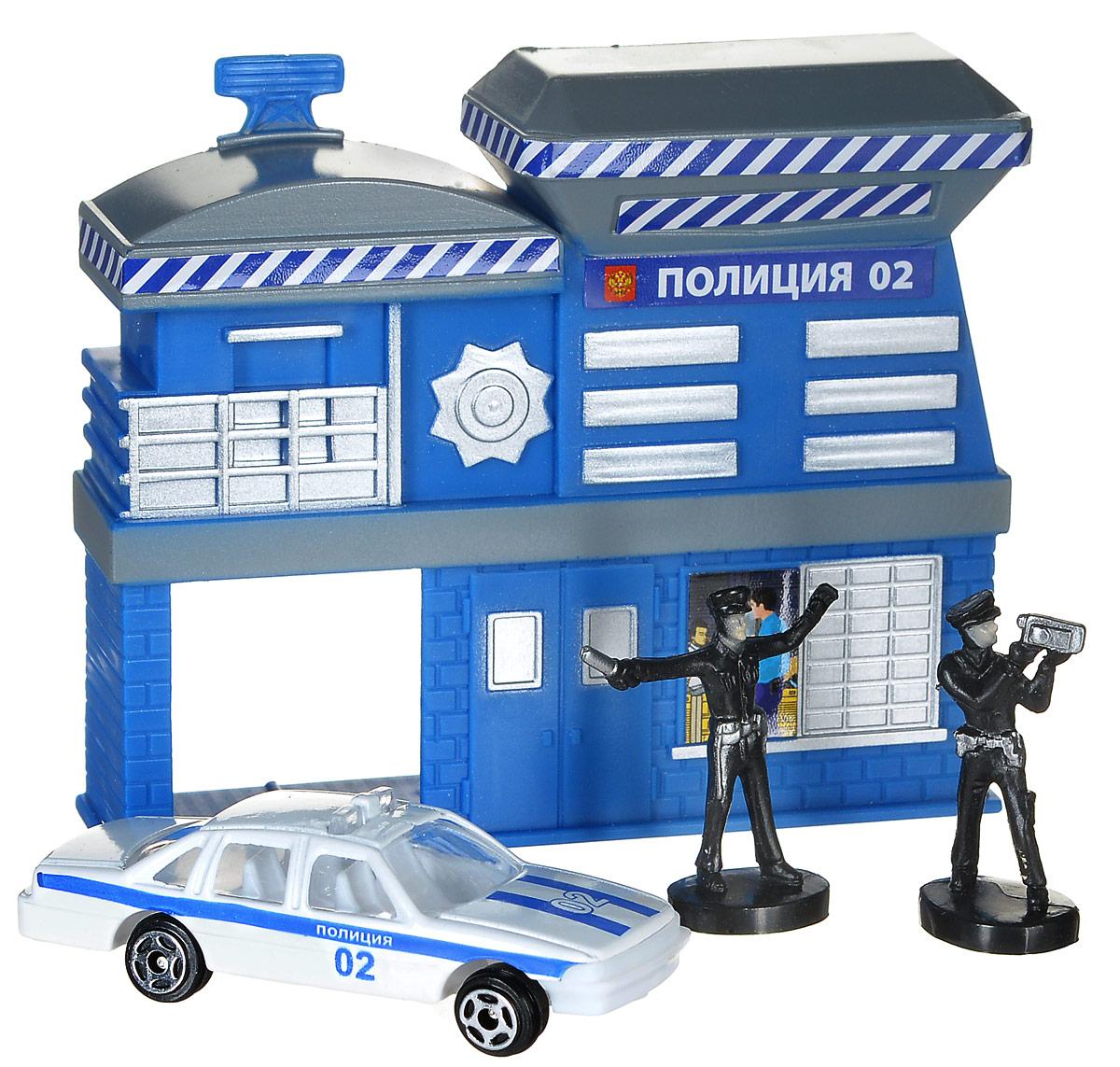 ТехноПарк Игровой набор Полицейский участок hti игровой набор полицейский в кейсе