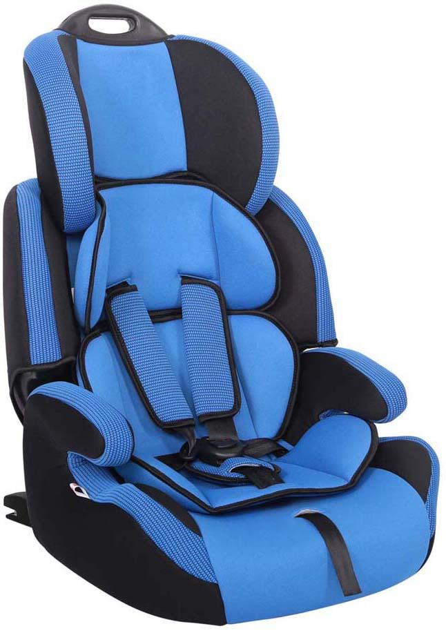 Siger Автокресло Стар IsoFix цвет синийKRES0476Автокресло Siger Стар Isofix разработано для детей от 1 года до 12 лет, весом от 9 кг до 36 кг. Относится к возрастной группе 1/2/3.Мягкий подголовник, специальная ортопедическая спинка и накладки внутренних ремней повышают уровень комфорта во время поездки. Чехол изготовлен из качественного износостойкого и гипоаллергенного материала. Кресло снабжено удобной ручкой для переноски.Кресло Siger Стар Isofix трансформируется под три возрастные группы: от 1 года до 3-4 лет (полная комплектация), от 3 до 6-7 лет (снимаются ремни и внутренние накладки), от 7 до 12 лет (бустер).За счет европейской системы крепления Isofix достигается безошибочная установка кресла в два щелчка. Автокресло крепится к силовому каркасу автомобиля, что обеспечивает повышенную безопасность. Детские удерживающие устройства Siger разработаны и сделаны в России с учетом анатомии детей. Двухпозиционная регулировка внутренних ремней позволяет адаптировать кресло Siger Стар Isofix под зимнюю и летнюю одежду ребенка. Автокресло успешно прошло все необходимые краш-тесты и имеет сертификат соответствия техническому регламенту РФ и таможенному союзу.Автокресло Siger Стар Isofix упаковано в защитную полиэтиленовую пленку
