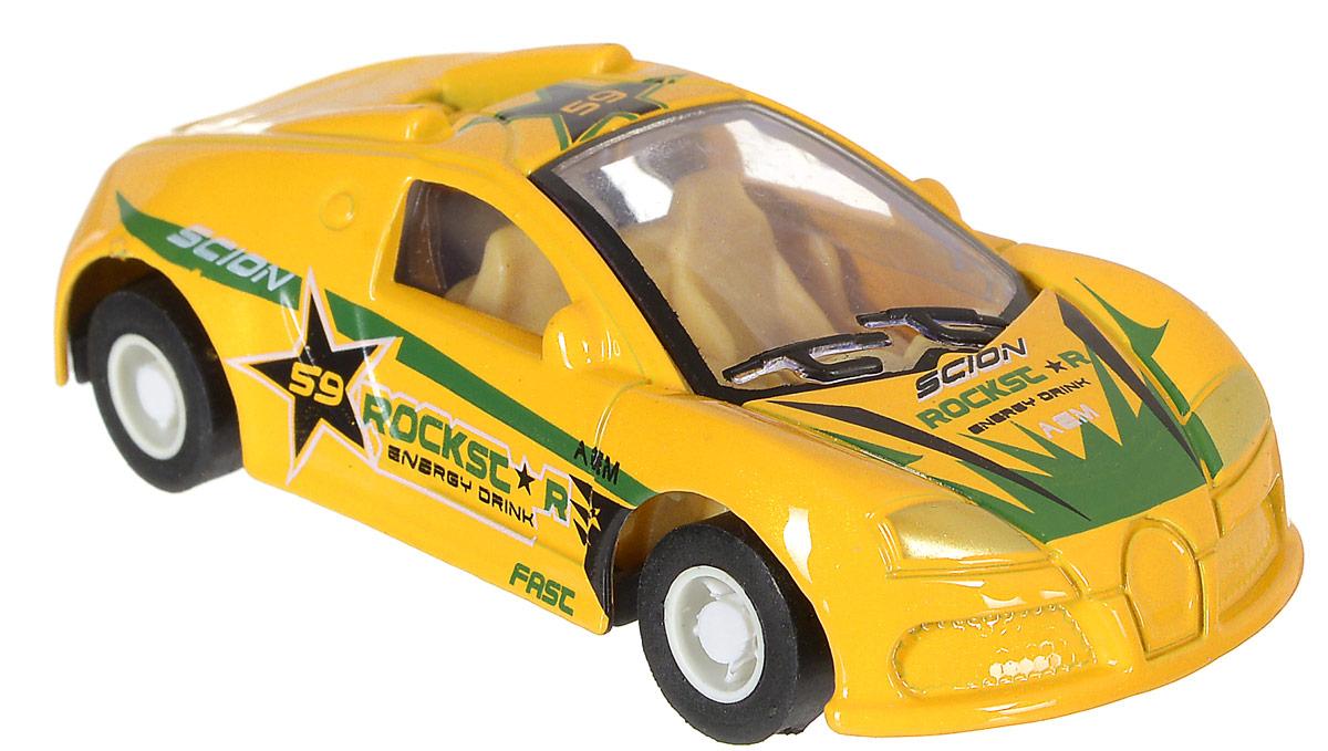 Shantou Машинка инерционная Крутые тачки цвет желтый