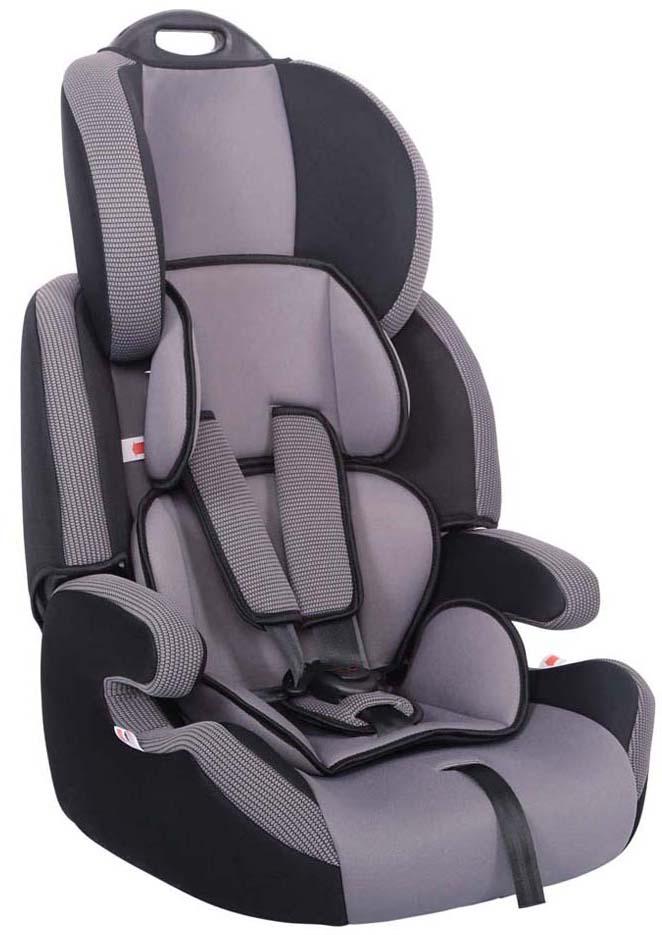 Siger Автокресло Стар цвет серыйKRES0456Детское автомобильное кресло «SIGER Стар» предназначено для детей от 1 года до 12 лет весом от 9 до 36 кг. Отличительным свойством автокресла является его универсальность. При соответственном весе ребенка кресло может использоваться в течение 12 лет. Для удобства малышей от 1 до 4 лет автокресло оборудовано 5-ти точечным ремнем безопасности с регулировкой по глубине и высоте, мягким съемным вкладышем и мягкими накладками на ремни. Съемный чехол изготовлен из нетоксичного гипоаллергенного материала, который безопасен для малыша. Детское автомобильное кресло «SIGER Стар» легко переносить благодаря ручки сверху подголовника кресла. Автокресло «SIGER Стар» производится в России, что обеспечивает приемлемую цену. В детском автомобильном кресле «SIGER Стар» ваш ребенок будет путешествовать в безопасности и с удовольствием!Кресло Siger «Стар» трансформируется под три возрастные группы: от 1 года до 3-4 лет (полная комплектация), от 3 до 6-7 лет (снимаются ремни и внутренние накладки), от 7 до 12 лет (бустер).Детские удерживающие устройства Siger разработаны и сделаны в России с учетом анатомии российских детей. Двухпозиционная регулировка внутренних ремней позволяет адаптировать кресло Siger «Стар» под зимнюю и летнюю одежду ребенка. Автокресло успешно прошло все необходимые краш-тесты и имеет сертификат соответствия техническому регламенту РФ и таможенному союзу.
