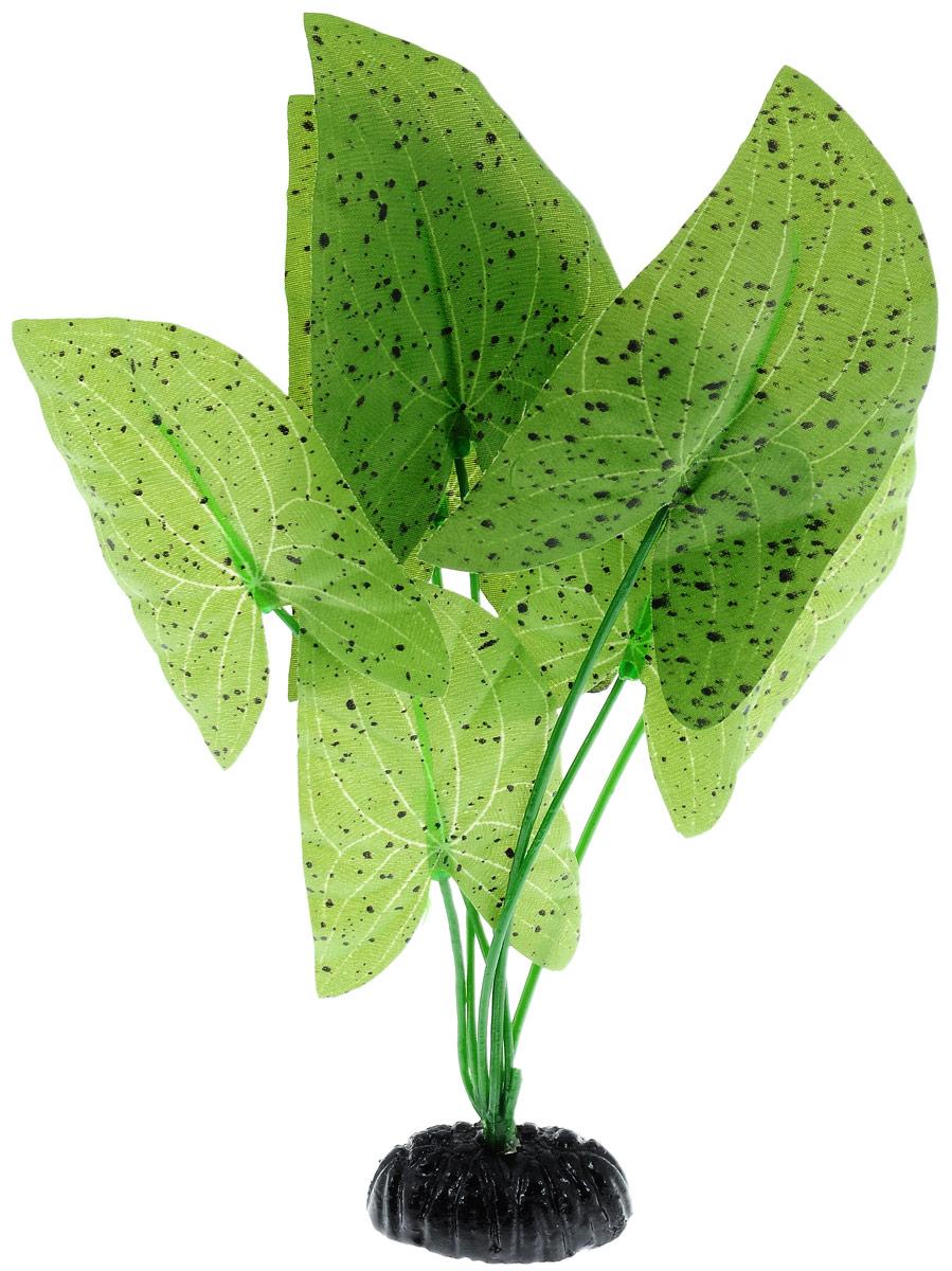 Растение для аквариума Barbus Нимфея пятнистая, шелковое, высота 20 смPlant 054/20Растение для аквариума Barbus Нимфея, выполненное из высококачественного нетоксичного пластика и шелка, станет прекрасным украшением вашего аквариума. Шелковое растение идеально подходит для дизайна всех видов аквариумов. В воде происходит абсолютная имитация живых растений. Изделие не требует дополнительного ухода и просто в применении.Растение абсолютно безопасно, нейтрально к водному балансу, устойчиво к истиранию краски, подходит как для пресноводного, так и для морского аквариума. Растение для аквариума Barbus Нимфея поможет вам смоделировать потрясающий пейзаж на дне вашего аквариума или террариума.