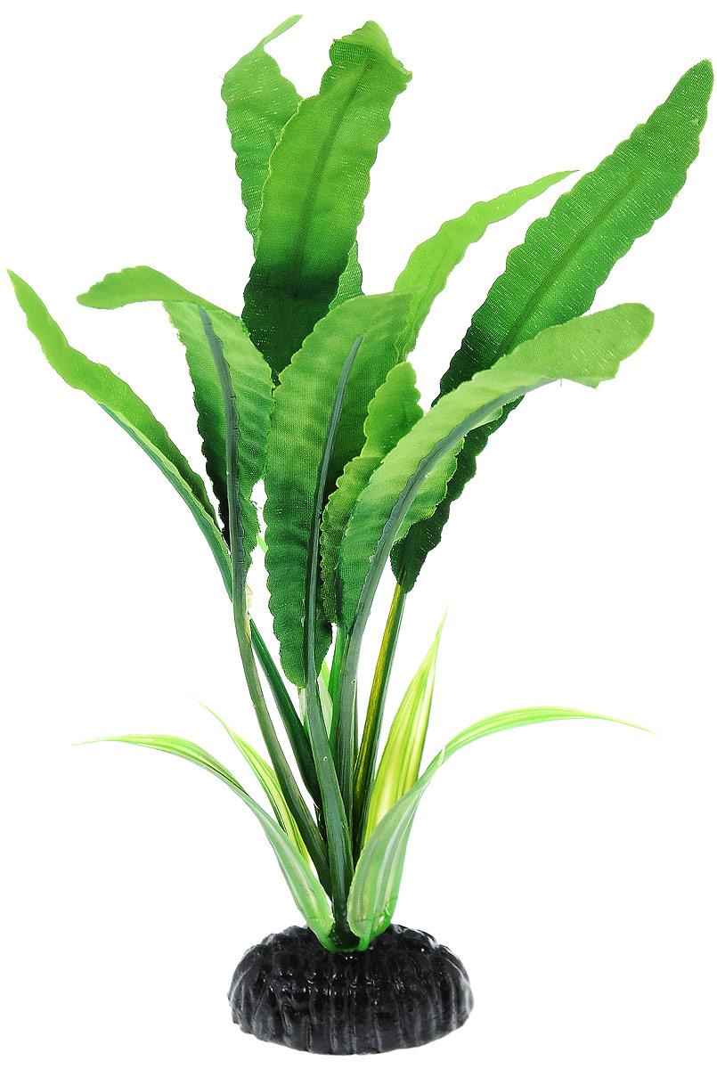 Растение для аквариума Barbus Кринум, шелковое, высота 20 см в москве магазины все для аквариума