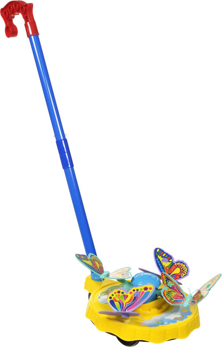 Ami&Co Игрушка-каталка Бабочки цвет желтый синий, Amico