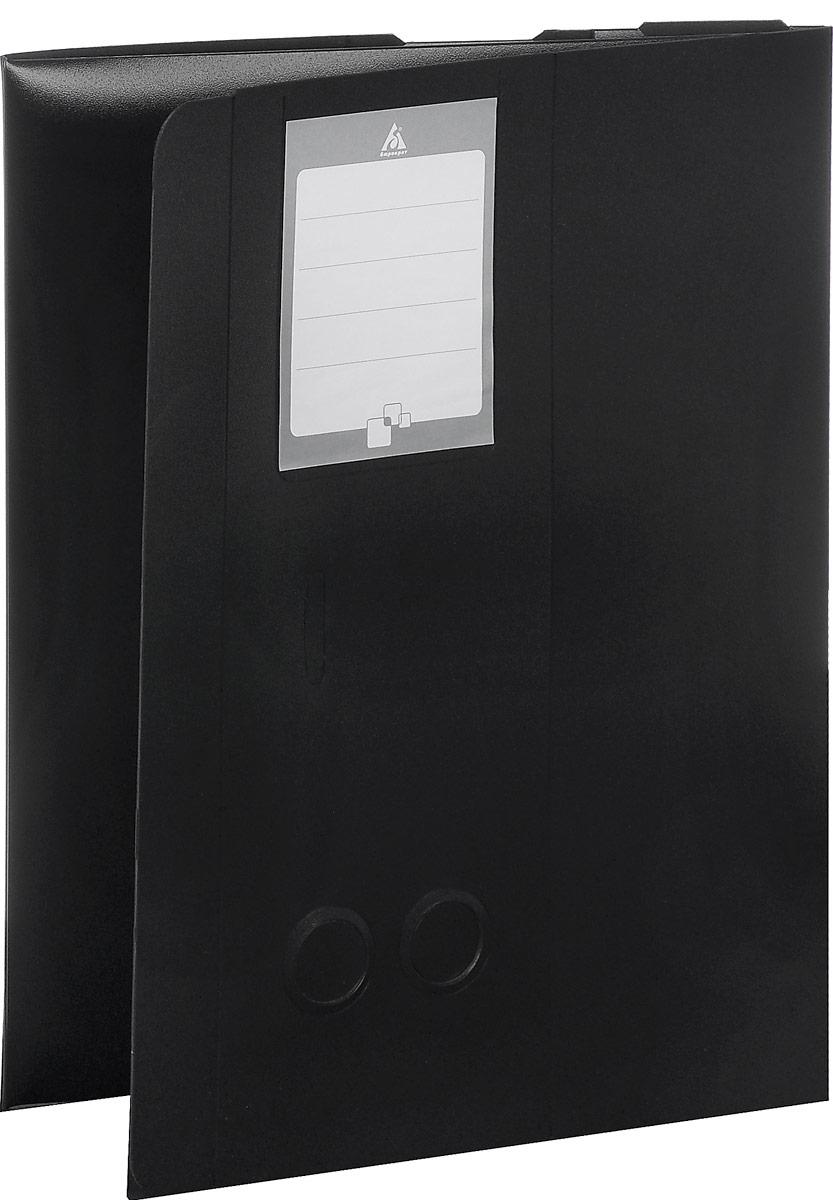 Бюрократ Архивный короб цвет черный 816196816196Архивный короб Бюрократ - это очень удобный и прочный аксессуар для хранения листов и документов формата А4. Короб закрывается на удобную вырубную застежку и имеет два стикера для записи, на абзаце и сбоку. Для удобства извлечения папки на двух торцевых сторонах предусмотрены круглые отверстия.Короб выполнен из прочного пластика толщиной 1 мм. Архивный короб Бюрократ поможет вам красиво и правильно организовать хранение документов.
