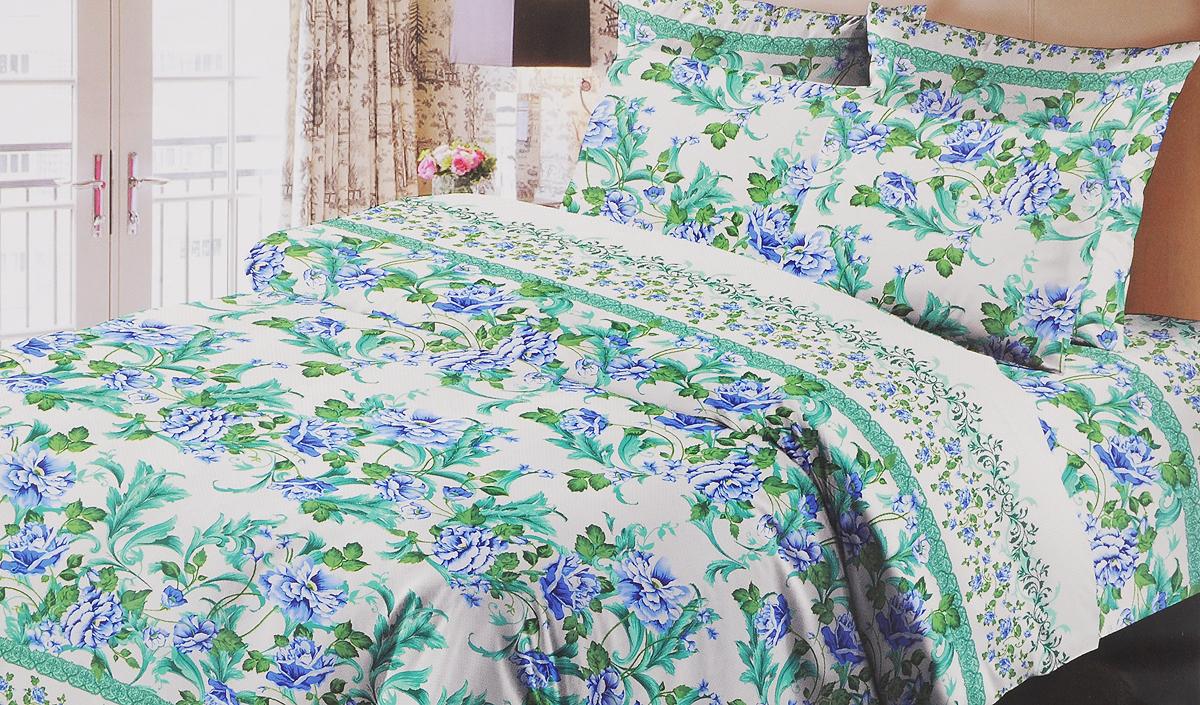 Комплект белья Liya Home Collection Богема, 2-спальный с евро простыней, наволочки 70x70 комплект семейного белья василиса нежная роза 4172 1 70x70 c рб