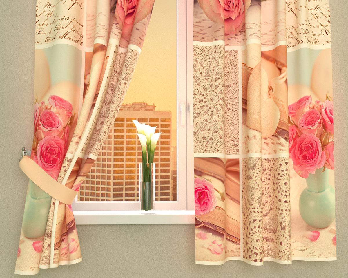 Комплект фотоштор Сирень Романтичная композиция, на ленте, высота 160 см02368-ФК-ГБ-002Фотошторы для кухни Сирень Романтичная композиция, выполненные из габардина (100% полиэстера), отлично дополнят украшение любого интерьера. Особенностью ткани габардин является небольшая плотность, из-за чего ткань хорошо пропускает воздух и солнечный свет. Ткань хорошо держит форму, не требует специального ухода. Крепление на карниз при помощи шторной ленты на крючки. В комплекте 2 шторы. Ширина одного полотна: 145 см.Высота штор: 160 см.Рекомендации по уходу: стирка при 30 градусах, гладить при температуре до 110 градусов.Изображение на мониторе может немного отличаться от реального.Подхваты в комплект не входят.