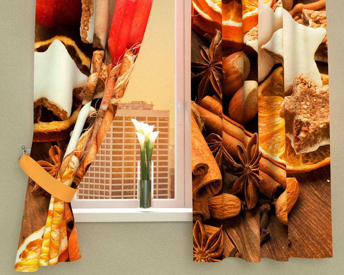 Комплект фотоштор Сирень Пряный аромат, на ленте, высота 160 см02575-ФК-ГБ-002Фотошторы для кухни Сирень Пряный аромат, выполненные из габардина (100% полиэстера), отлично дополнят украшение любого интерьера. Особенностью ткани габардин является небольшая плотность, из-за чего ткань хорошо пропускает воздух и солнечный свет. Ткань хорошо держит форму, не требует специального ухода. Крепление на карниз при помощи шторной ленты на крючки. В комплекте 2 шторы. Ширина одного полотна: 145 см.Высота штор: 160 см.Рекомендации по уходу: стирка при 30 градусах, гладить при температуре до 110 градусов.Изображение на мониторе может немного отличаться от реального.Подхваты в комплект не входят.
