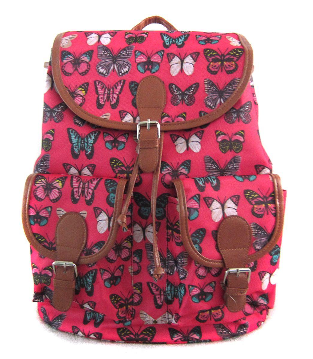 Рюкзак молодежный Creative Махаоны, цвет: розовый, 23 лGL-BC866Рюкзак молодежный Creative Махаоны - лаконичная и очень удобная модель, в которую поместится все: школьные принадлежности и завтрак, спортивная форма, любимые игрушки, ноутбук. Подвесная система позволяет регулировать лямки и тем самым адаптировать изделие под рост владельца. Мягкие лямки обеспечат комфорт даже при длительном ношении рюкзака. Внутреннее пространство рюкзака вместит всё необходимое. Благодаря текстильной ручке рюкзак можно повесить. Выполнен рюкзак из влагостойкой ткани. Рюкзак закрывается на клапан, впереди - два кармана с клапанами.Этот рюкзак - точно выделит своего владельца из толпы и привлечет к нему множество заинтересованных взглядов.