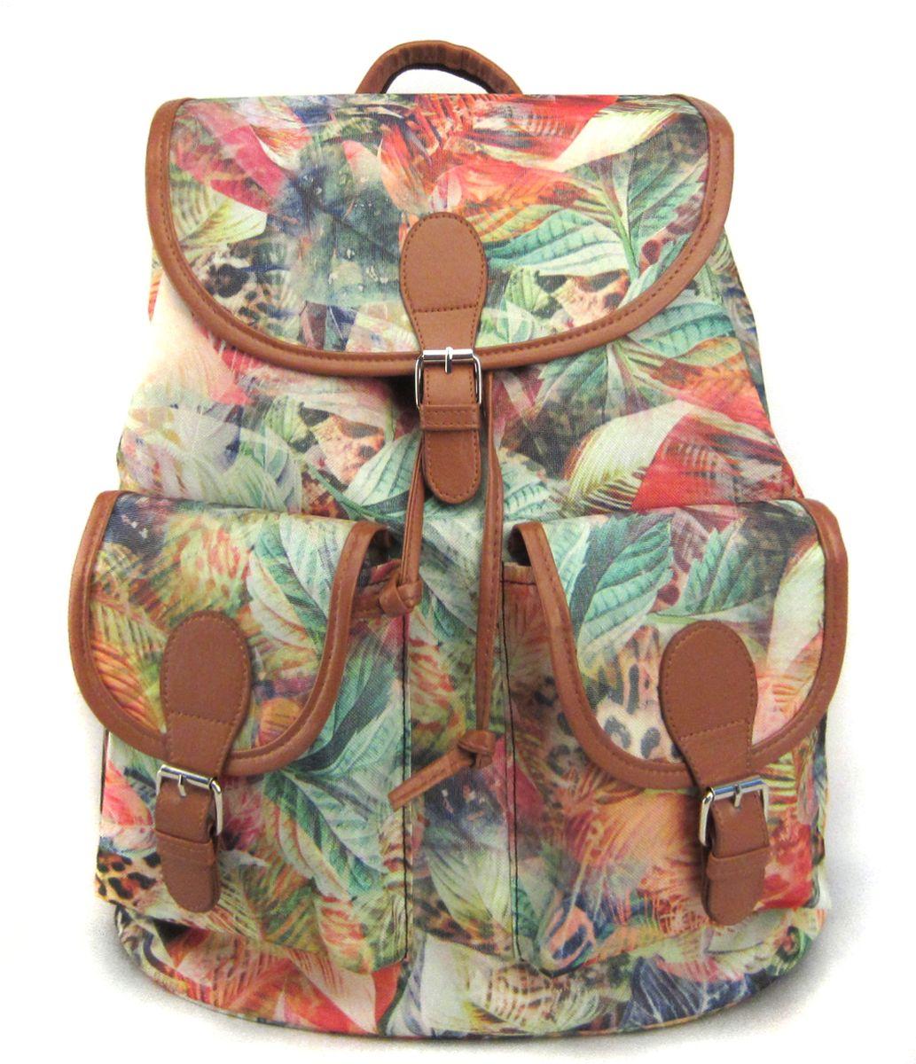 Рюкзак молодежный Creative Флора лета, цвет: мультиколор, 23 л mojo pax рюкзак sport bascket ball