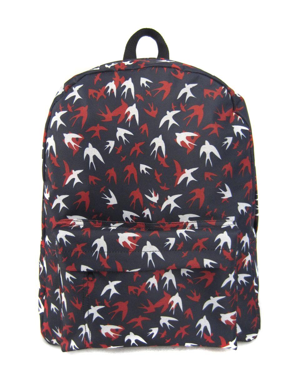 Рюкзак молодежный Creative Ласточки, цвет: темно-синий, 16 л oiwas ноутбук рюкзак мода случайные