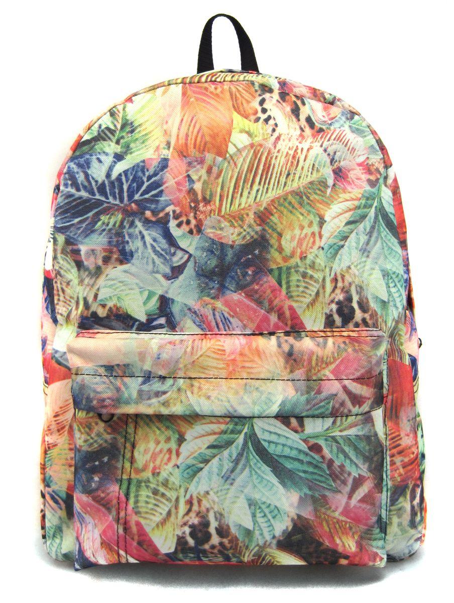 Рюкзак молодежный Creative Флора лета, цвет: мультиколор, 16 лGL-BC881Лаконичная и очень удобная модель, в которую поместится все: школьные принадлежности и завтрак, спортивная форма, любимые игрушки, ноутбук. Это рюкзак универсален именно благодаря удобному и простому крою.