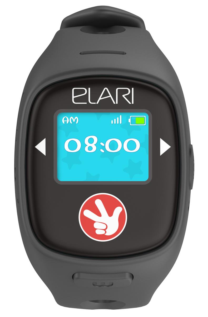 Elari Fixitime 2, Black часы-телефонFT-201 blackElari Fixitime 2 – новая модель детских часов-телефона с GPS/LBS/WiFi-трекером. Помимо голосовой связи, функций трекинга и SOS, FixiTime 2 устройство обладает расширенным функционалом: усовершенствованная система позиционирования GPS/A-GPS/LBS/WiFi, цветной сенсорный экран, развлекательные функции.Доработанный трекинг с Wi-Fi позволяет максимально точно определять местоположение часов, как на улице, так и внутри зданий. Родители всегда видят местоположение ребенка на Google-карте и могут позвонить ему. Ребеноктакже может позвонить на номера, установленные в память часов через приложение. Детей порадуют новые развлекательные возможности – голосовой чат, добавление друзей или обмен Emoji. Elari Fixitime 2 управляется со смартфонов родителей через бесплатное приложение, доступное в AppStore и Google Play.Тип SIМ-карты: Микро-SIM с 2G-интернетом Время работы в режиме ожидания: 1 неделя Время работы в режиме разговора: 360 мин Встроенный динамик, микрофон