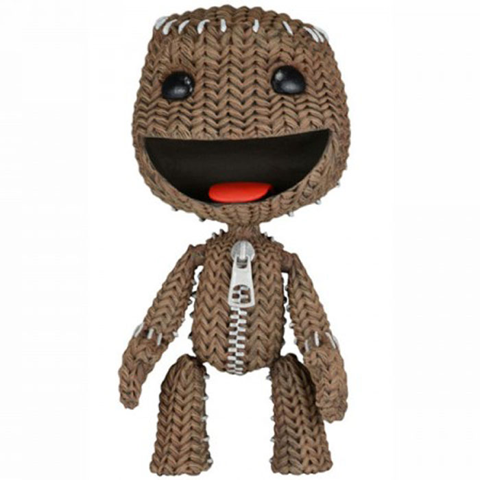 LittleBigPlanet Series 2. Фигурка Happy Sackboy цена