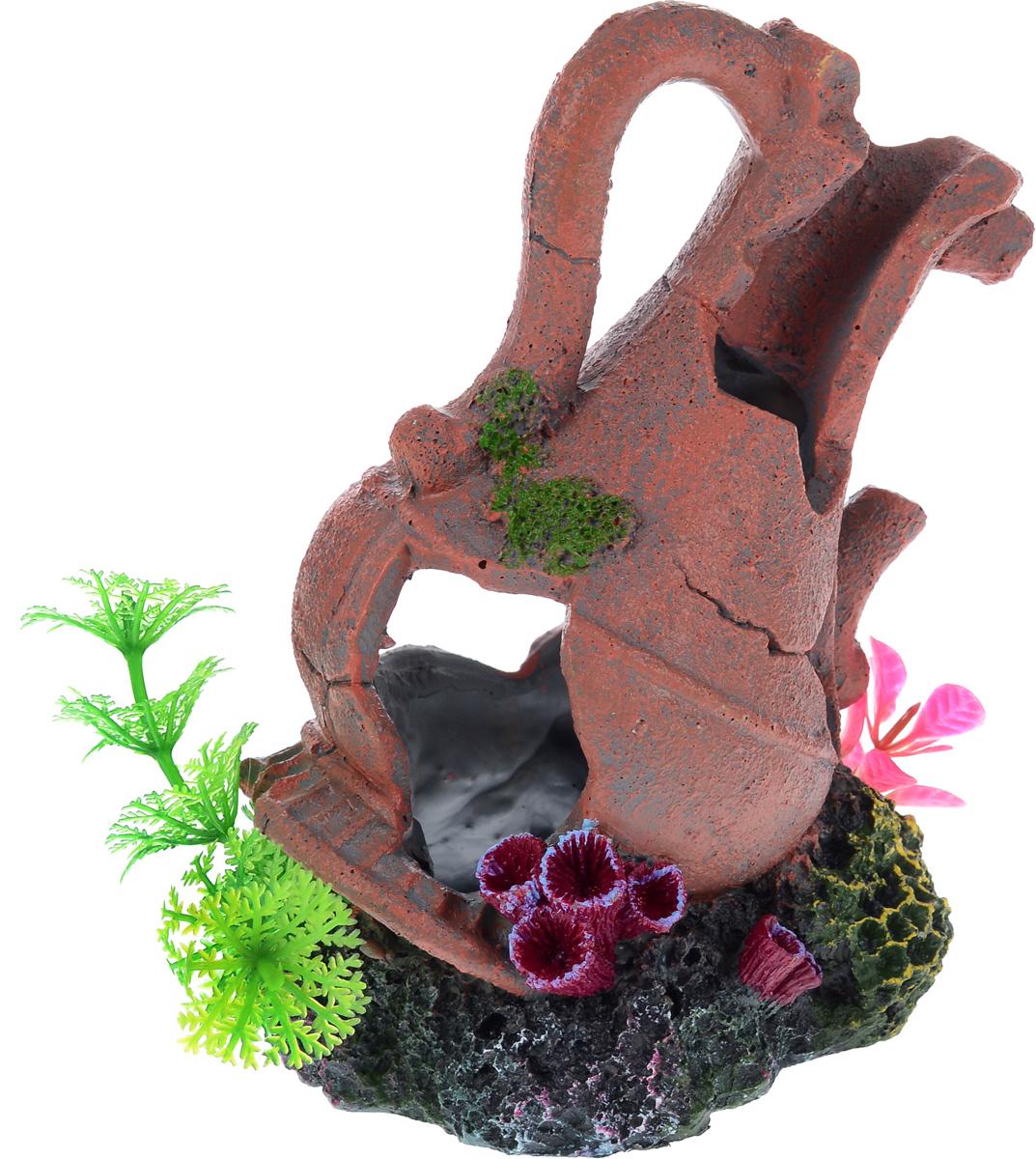 Декорация для аквариума Barbus Амфора, 15 х 11 х 16 см