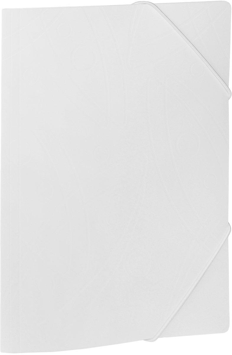 Бюрократ Папка на резинке Galaxy формат А4 цвет белый816765Папка на резинке Galaxy - это удобный и функциональный офисный инструмент, предназначенный для хранения и транспортировки большого объема рабочих бумаг и документов формата А4.Папка изготовлена из жесткого, но гибкого фактурного пластика и закрывается при помощи угловых резинок. Резинки не позволят папке раскрыться в неподходящий момент. Папка надежно сохранит ваши документы и сбережет их от повреждений, пыли и влаги.
