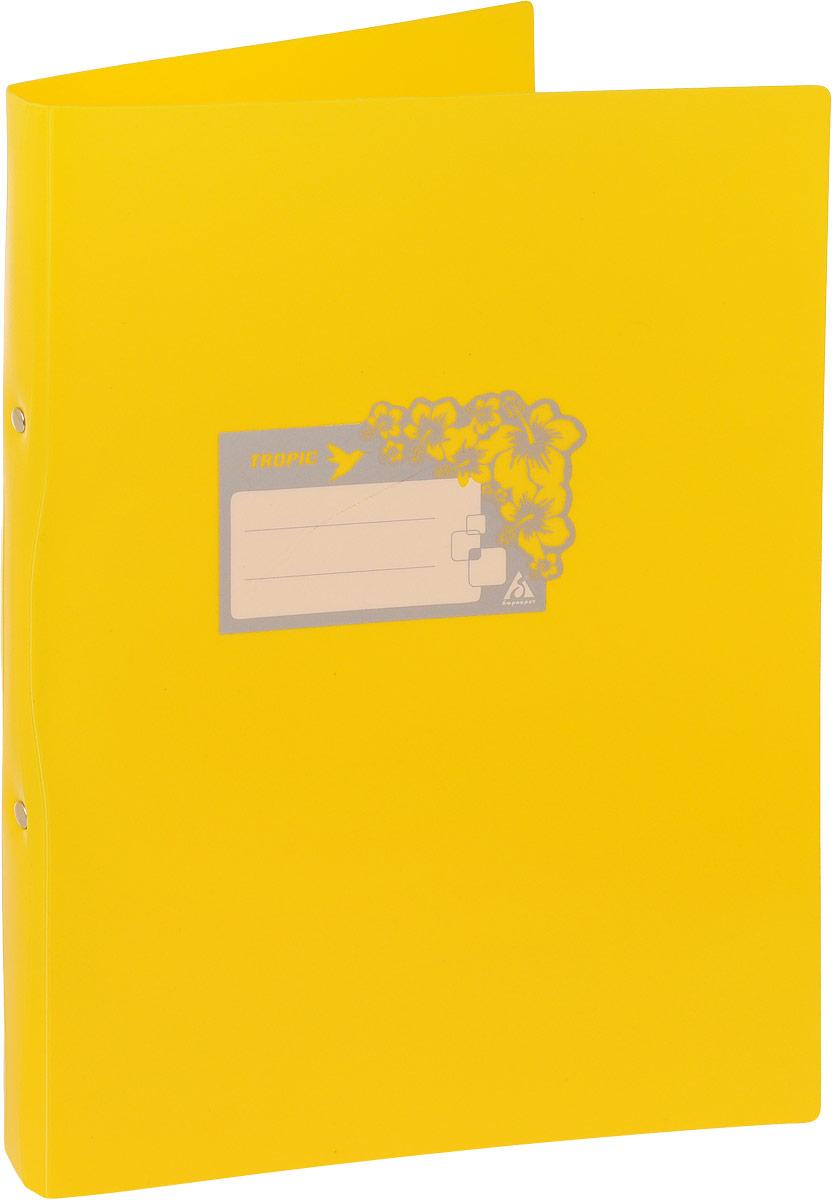 Бюрократ Папка-скоросшиватель Tropic формат А4 цвет желтый816882_желтыйПапка Бюрократ Tropic формата А4 идеально подходит для подшивки бумаг в архивные папки с помощью металлического скоросшивателя. Папка изготовлена из прочного высококачественного пластика. С такой папкой все ваши документы будут в полной сохранности.