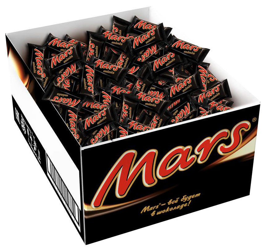 Mars minis шоколадный батончик, 2,7 кг79010024Mars minis - это уникальное сочетание нуги, карамели и лучшего молочного шоколада. Знакомый всем с детства Mars в формате minis удобно разделить с друзьями, коллегами, близкими и родными. Сложно найти для чаепития что-то более подходящее, чем Mars minis.Уважаемые клиенты! Обращаем ваше внимание, что полный перечень состава продукта представлен на дополнительном изображении.