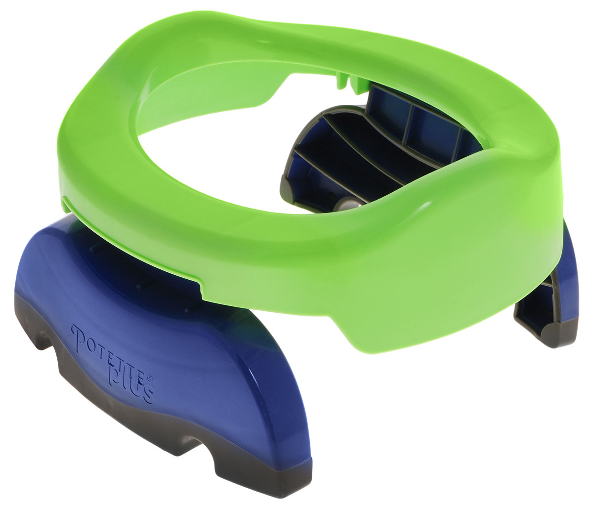 Дорожный горшок Potette Plus, цвет: зеленый дорожный складной горшок potette plus