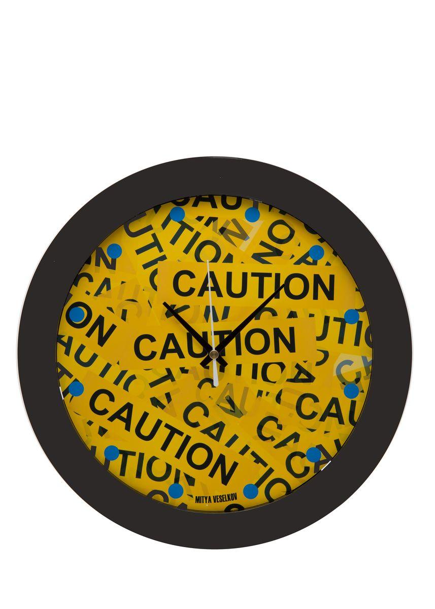 Часы настенные Mitya Veselkov Скотч, цвет: черный. MVC.NAST-023