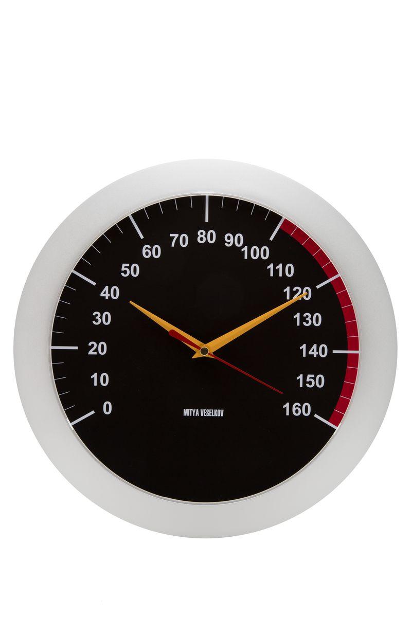 Часы настенные Mitya Veselkov Спидометр, цвет: белый. MVC.NAST-026MVC.NAST-026