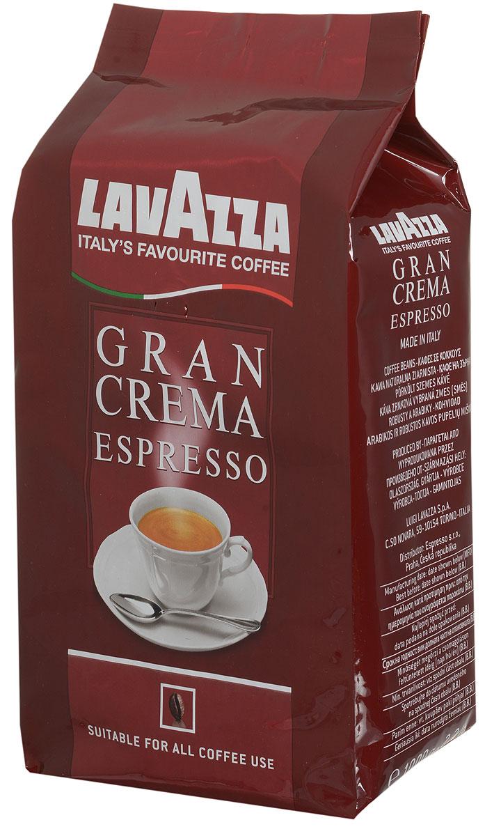 Lavazza Gran Crema кофе в зернах, 1 кг8000070024854Lavazza Gran Crema имеет богатый, интенсивный вкус с ярким ореховым послевкусием. Высокое качество отборных сортов зерен, придает изысканный аромат и плотную кофейную пенку. Отлично сочетается с молоком. Смесь подойдет как для профессиональных, так и бытовых кофе-машин.
