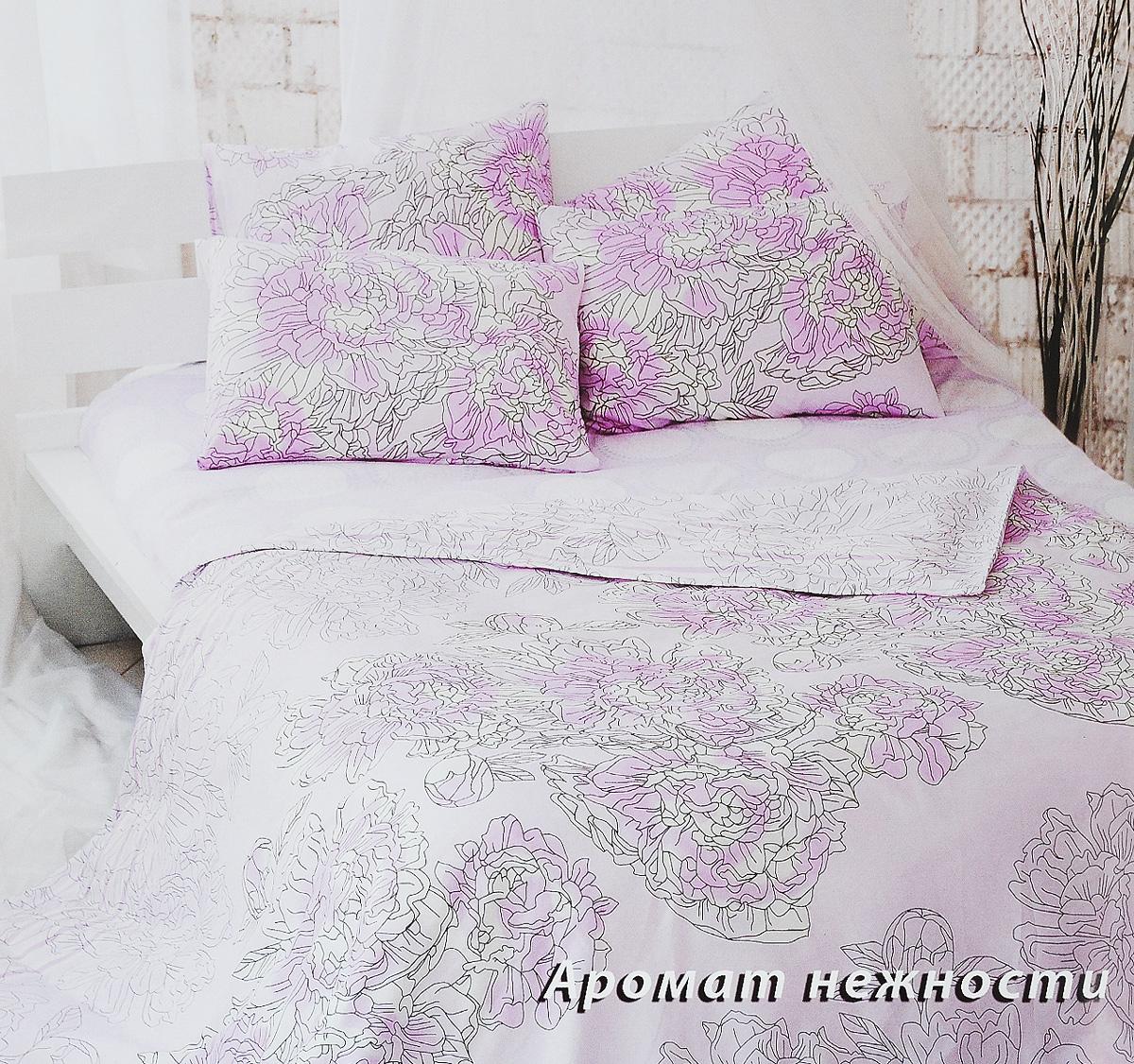 Комплект белья Tiffanys Secret Аромат нежности, 1,5-спальный, наволочки 70х70, цвет: розовый, белый, серый2040815158Комплект постельного белья Tiffanys Secret Аромат нежности является экологически безопасным для всей семьи, так как выполнен из сатина (100% хлопок). Комплект состоит из пододеяльника, простыни и двух наволочек. Предметы комплекта оформлены оригинальным рисунком.Благодаря такому комплекту постельного белья вы сможете создать атмосферу уюта и комфорта в вашей спальне.Сатин - это ткань, навсегда покорившая сердца человечества. Ценившие роскошь персы называли ее атлас, а искушенные в прекрасном французы - сатин. Секрет высококачественного сатина в безупречности всего технологического процесса. Эту благородную ткань делают только из отборной натуральной пряжи, которую получают из самого лучшего тонковолокнистого хлопка. Благодаря использованию самой тонкой хлопковой нити получается необычайно мягкое и нежное полотно. Сатиновое постельное белье превращает жаркие летние ночи в прохладные и освежающие, а холодные зимние - в теплые и согревающие. Сатин очень приятен на ощупь, постельное белье из него долговечно, выдерживает более 300 стирок, и лишь спустя долгое время материал начинает немного тускнеть. Оцените все достоинства постельного белья из сатина, выбирая самое лучшее для себя!