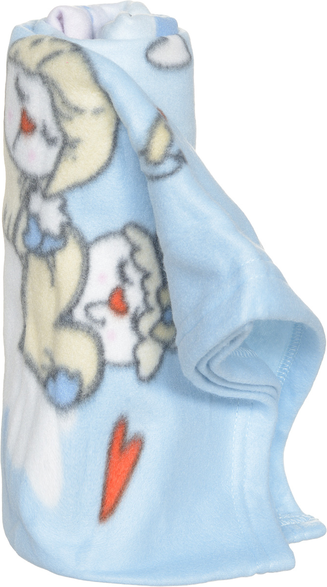 Bonne Fee Плед детский Гномики цвет голубой 100 х 70 смПГ-100х70/ГДетский плед Bonne Fee Гномики согреет малыша в прохладную погоду в кроватке или коляске!Плед порадует вас легкостью, нежностью и оригинальным дизайном! Плед выполнен из 100% полиэстера.Полиэстер считается одной из самых популярных тканей. Это материал синтетического происхождения из полиэфирных волокон. Внешне такая ткань схожа с шерстью, а по свойствам близка к хлопку. Изделия из полиэстера не мнутся и легко стираются. После стирки очень быстро высыхают.Изделие позволяет коже дышать и не вызывает раздражения. Мягкий плед - замечательный аксессуар, который подарит вашему малышу тепло и уют.Уход: стирка при максимальной температуре 40°С, нельзя отбеливать, не гладить, нельзя выжимать и сушить в стиральной машине, химчистка запрещена.