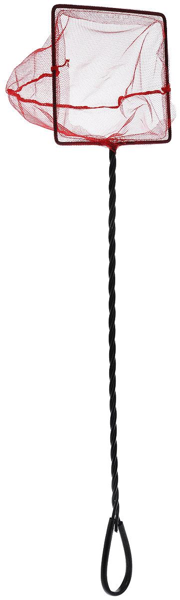 Сачок аквариумный Barbus, с инфракрасной сеткой, с удлиненной ручкой, 15 х 12,5 см сачок с бамбуковой ручкой 110см