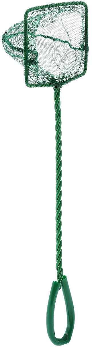 Сачок аквариумный Barbus, 7,5 х 6 смAccessory 027Сачок Barbus предназначен для легкого извлечения рыбили остатков корма из аквариума. Изделие выполнено изметалла со специальным пластиковым покрытием. Такойсачок безопасен для рыб, устойчив к коррозии идолговечен. Сетка выполнена из прочного нейлона. Наручке имеется петля для подвешивания.Размер сачка: 7,5 х 6 см.Длина ручки: 25 см.