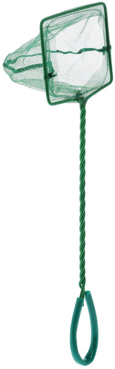 Сачок аквариумный Barbus, 10 х 7,5 см скребок аквариумный barbus cо съемным лезвием с насадкой для посадки растений длина 60 см