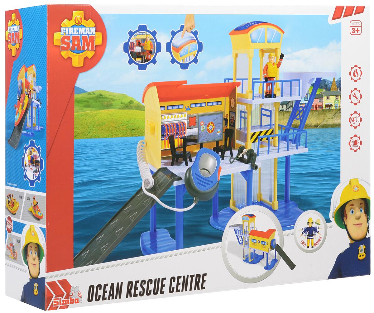 Simba Игровой набор Морской спасательный центр с фигуркой рации